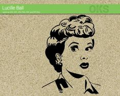 Download I Love Lucy stencil | I love lucy, Love lucy, Romantic ...