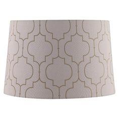 Threshold  Flocked Lamp Shade - Large | Renovation Ideas | Pinterest