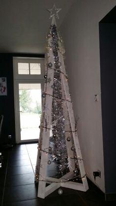 wooden ladder christmas tree google search tree pinterest