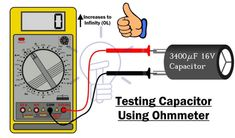 How To Perform a Continuity Test for Electric Components with Multimeter? Basic Electrical Wiring, Electrical Circuit Diagram, Electrical Projects, Simple Electronics, Electronics Basics, Electronics Components, Electronic Circuit Design, Electronic Engineering, Electrical Engineering