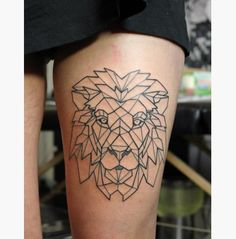 15 Geometric Animal Tattoos