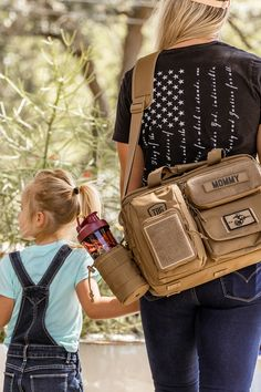 Wonder Woman has her bracelets, lasso, and invisible plane. You have the Deuce 2.0. We'll call it a draw. Baby Love, Baby Baby, Dad Diaper Bag, Tactical Bag, Future Mom, Survival Mode, Feminine Fashion, Gift List, Cool Baby Stuff