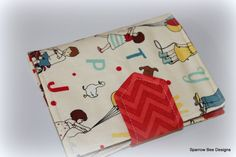 Crayon Wallet  vintage play by sparrowbee on Etsy, $18.00