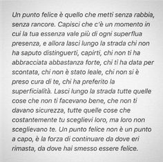 Mettere un punto... Top Quotes, Wall Quotes, Life Quotes, Italian Phrases, Italian Quotes, Silly Love, Most Beautiful Words, Healthy Words, Bitch Quotes
