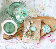 Gorgeous creation by Evgenia Petzer for the Simon Says Stamp Blog using Memory Box Dies.