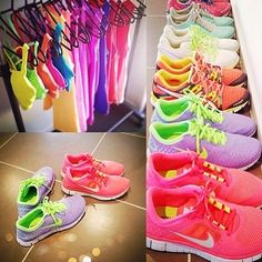 running shoes - if only I went running! @Rose Lloyd