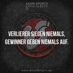 Es ist einfach eine Sache der Einstellung. - www.AesirSports.de