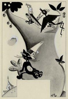 Piti Bartolozzi, 1932 (An overview of the illustrators of the 1930s Spanish children's magazine Gente Menuda)
