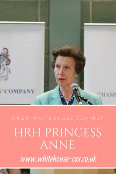Discover how and why Whitehouse Cox were granted the distinct honour of meeting British royalty in the form of HRH Princess Anne.