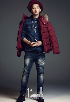 Big Bang G-Dragon - 1st Look Magazine October Issue '11