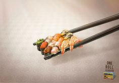Chromax: One is enough, Chopsticks http://adsoftheworld.com/media/print/chromax_one_is_enough_chopsticks