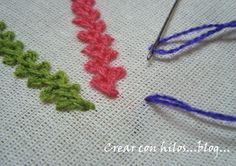 tutoriales de tejido, crochet y dos agujas, knit tutorials and crochet