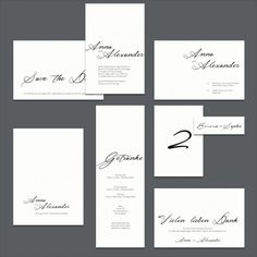 Schlichte, weiße DIY-Hochzeitseinladung – all white DIY wedding invitation – www.karten-selberdrucken.de