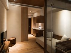 Modern japanese style house, house design design, architecture homes Small Japanese House, Japanese Living Rooms, Japanese Style House, Small House Interior Design, Apartment Interior Design, Interior Styling, Room Interior, Modern Japanese Interior, Japanese Home Decor