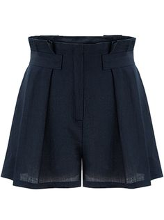 To find out about the Navy High Waist Loose Shorts at SHEIN, part of our latest Pants ready to shop online today! Culotte Shorts, Pleated Shorts, Loose Shorts, Linen Shorts, High Waisted Shorts, Women's Shorts, Casual Shorts, Navy Blue Shorts, Hot Pants