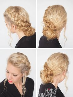 One of my fave styles for messy curls! Check out Hair Romance's 30 Days of Curly Hairstyles ebook at http://www.hairromance.com/shop to learn how to master your curls every day with ease.