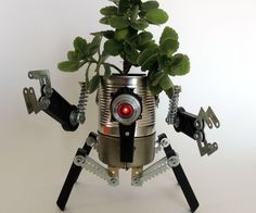 """(If you like my project, please vote for me. Thanks!)Ladies and Gentlemen, I give you... my Ultimate Robo-Planter!""""But Mario"""" - you will say - """"We have seen your Robo-Planters before. Not bad and very ecological, but what new do you have to show?""""Good question, my dear reader! Let me explain it to you:This is my first two-modules robo-planter. The top module is the planter per se.The bottom module is a water receiver attached to the planter. When you add too much water to..."""