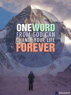"Read more at http://ibibleverses.christianpost.com/one-word-from-god/  ""I will answer them before they even call to Me…"" #Isaiah 65:24 (NLT)  #iBibleverses #Jesus #Christ #God"