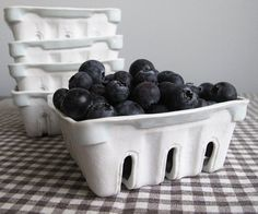 I love fresh fruit, and this reusable ceramic carton would be excellent to have in my fridge