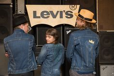 A nice big hug — in heavyweight denim and plush sherpa lining in the torso and cuffs. Cut for a relaxed fit — the hem hits slightly below the hip, and the body is slightly oversized for that Levis Jeans, Denim, Innovation Lab, Levi Strauss & Co, Things Happen, Vintage Levis, Jean Outfits, Vest Jacket, Opportunity