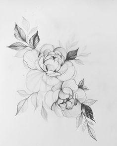 Easy People Drawings, Sketches Of People, Tattoo Sketches, Tattoo Drawings, Drawing Sketches, Mom Drawing, Relationship Drawings, Drawings For Boyfriend, Pencil Drawings Of Flowers