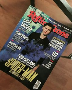 Tom Holland on Rolling Stone