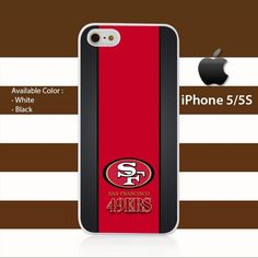 Custom San Francisco 49ers iPhone 5c Rubber Case Cover