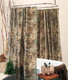 www.southernsistersdesigns.com  Southern Sisters Designs - Realtree Advantage Camo Single Panel Shower Curtain, $32.95 (http://www.southernsistersdesigns.com/products/Realtree-Advantage-Camo-Single-Panel-Shower-Curtain.html)