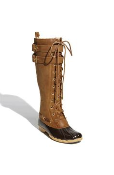 These rain / snow boots are excellent quality and SO fun. Get outta those Hunter boots, girl. Stand out in these!