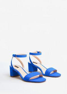 Sandalia pulsera tobillo - Zapatos de Mujer   MANGO México