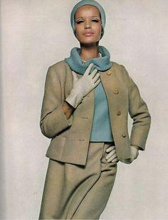 Veruschka.  Vogue, 1965.