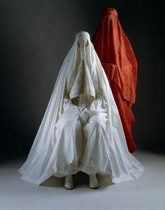 omgthatdress:  Burqas via the Costume Institute of the Metropolitan Museum of Art