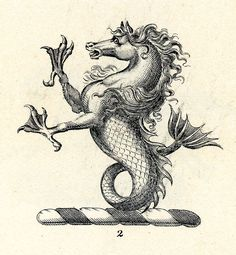 Sea Horse - Book of Heraldry