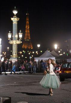 "mariamarushka: "" Carrie Bradshaw. ""An american girl in Paris"" """