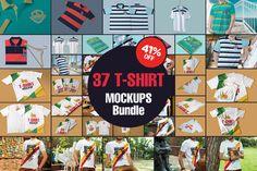 The Amazing T-Shirt Mockups Bundle by ZippyPixels on @creativemarket