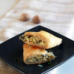 Spanakopita pockets, party food sure to impress guests -- vegetarian!