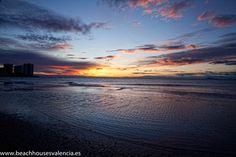 Sunrise on Cap Blanc's beach (Cullera)