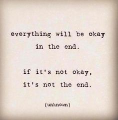 the end #quote