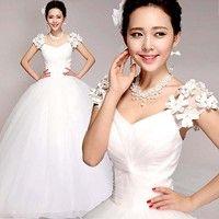 #Fashion #Women's Temperament #Lace Bride #Wedding Dress Bridesmaid Party #Dress K_WVB212