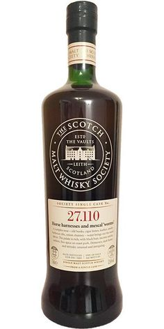 Springbank 22 Yr - SMWS Horse Harnesses and Mezcal Worms. Review #37. http://ift.tt/2CG86FD