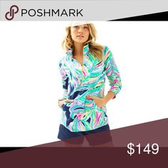 🌴Lilly Pulitzer XL SkippeR PopoveR TravelerS PalM 🌴NWOT Lilly Pulitzer XL SkippeR PopoveR TravelerS PalM ResorT NavY 🌴 ❤️WITH 20+ YEARS IN FASHION, WE LOVE BRINGING STYLE TO EVERY SIZE & SHAPE!❤️OUR WORK INCLUDES VERSACE, GAULTIER, DIOR, VALENTINO, VH-1, MTV, BBC & MORE!❤️THANKS  FOR SHOPPING @SAFFORDHALL POSH AMBASSADOR!❤️ WE LOVE GREAT OFFERS!❤️BUNDLE TO SAVE!❤️NO TRADES NO P NO LOWBALLS!❤️BULLYS, TROLLS HARASSERS REPORTED & BLOCKED!❤️KEEP POSH CLASSY!❤️SPREAD THE LOVE!❤️DO UNTO OTHERS…