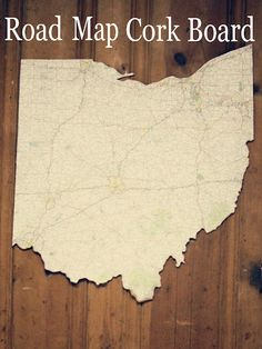 project 6 of 33 : road map cork board
