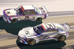 BMW 3.0 CSL Hommage R Concept (2015)