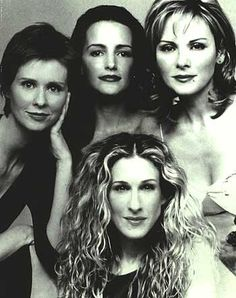 Sex and the City Challenge: Day 12 - Favorite cast photo  Classic.