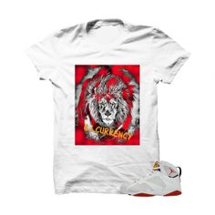 """Heart Of The Beast Hare 7s White T Shirt. The Heart Of The Beast Hare 7s White T Shirtis a premium quality sneakerhead t shirt. It matches with the Air Jordan 7 Retro """"Hare"""" Sneakers. *************************************************************** FOLLOW US ON INSTAGRAM: @illCurrency FOLLOW US ON TWITTER: @ill_Currency LIKE US ON FACEBOOK: facebook.com/illcurrency FOLLOW US ON PINTREST:pinterest.com/illcurrency"""