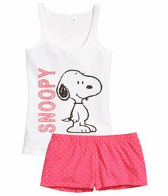 Designer Clothes, Shoes & Bags for Women Cute Pajama Sets, Cute Pjs, Cute Pajamas, Pajamas Women, Lazy Outfits, Disney Outfits, Girl Outfits, Cute Outfits, Snoopy Pajamas