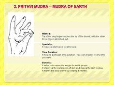 Prithvi Mudra - Earth