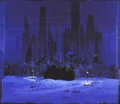 Arkham Gotham Skyline Premium-College Giacca Nuovo City, Bat Joker