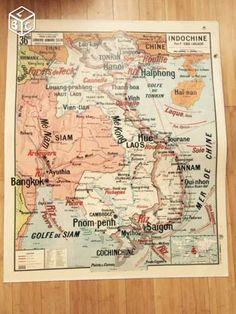 Lot cartes scolaires vidal lablache brunhes Collection Nord - leboncoin.fr