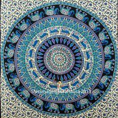 Indian-Elephant-Mandala-Tapestry-Wall-Hanging-Hippie-Tapestries-Ethnic-Decor-Art
